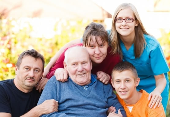 Care at home for father