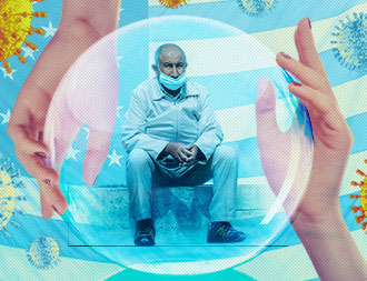 optimizing in-home senior care during pandemic cover design