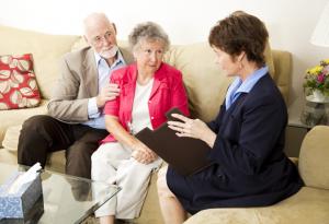 Meeting with Senior Care Advisor